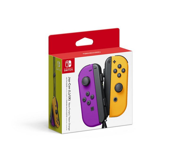 Nintendo анонсировала контроллеры Joy-Con в новых расцветках