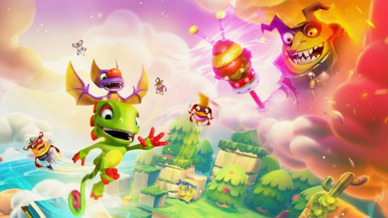 Новый трейлер Yooka-Laylee and the Impossible Lair