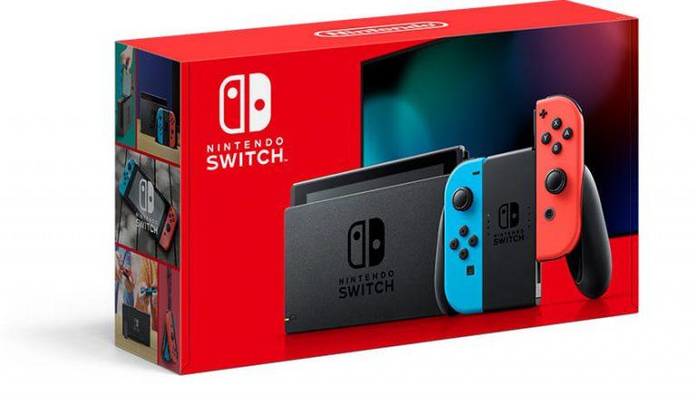 Nintendo анонсировала новую модель Switch