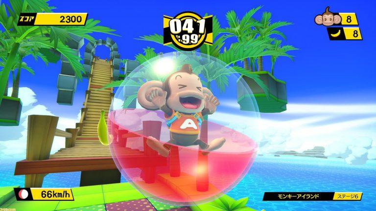 Tabegoro! Super Monkey Ball официально анонсирована для Switch