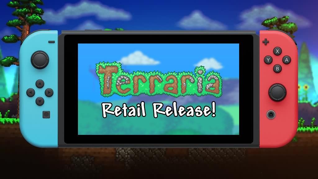 Физическое издание Terraria для Switch выйдет 23 августа