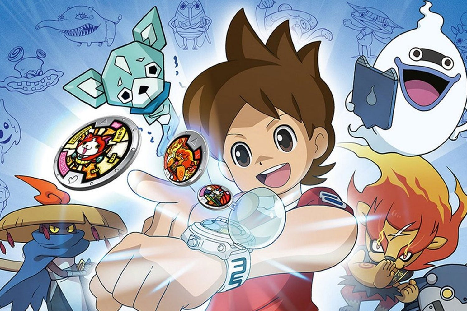 Yo-kai Watch 1 выйдет на Switch