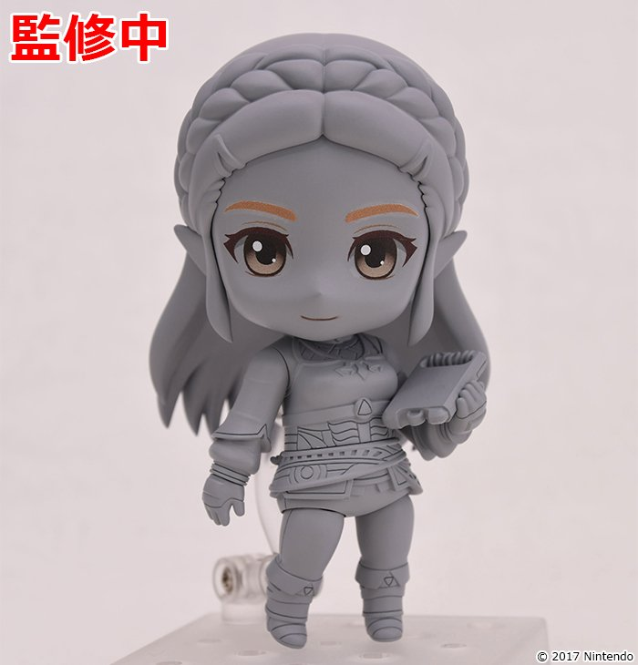 Первое фото Nendoroid'а Зельды!