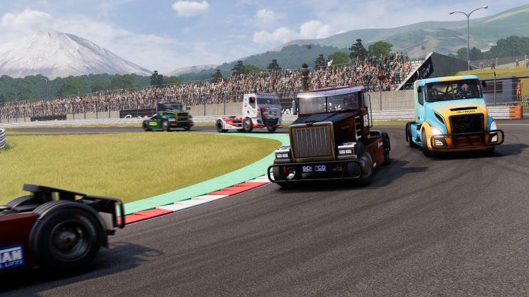 Геймплей FIA European Truck Racing Championship