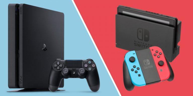 Switch до сих пор продаётся намного лучше PS4 в Японии