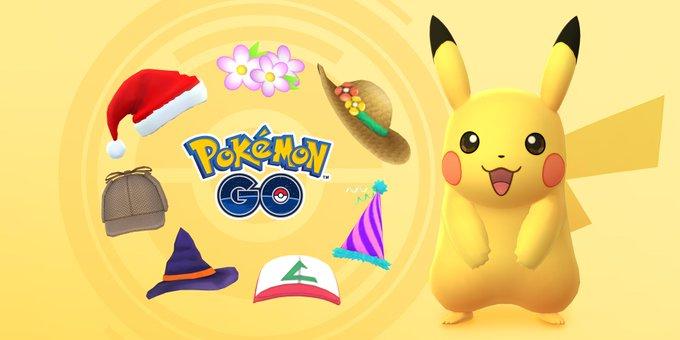 Pokemon Go: Пикачу в разных шляпах можно будет поймать в течение этой недели
