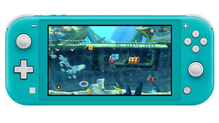 Monster Boy and the Cursed Kingdom получит особенный элемент игры на Switch Lite