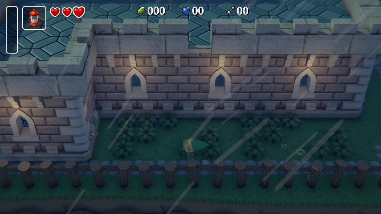 The Legend of Zelda: A Link to the Past на движке Unity