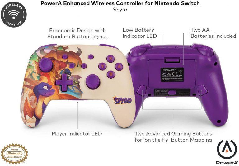 PowerA показала Pro-контроллер в стиле Spyro!