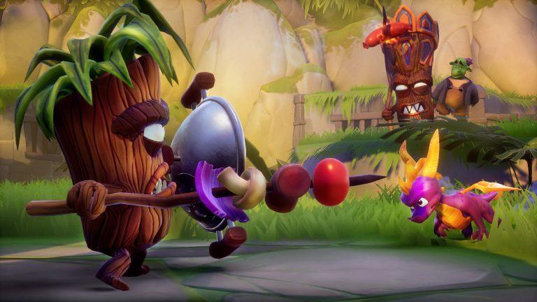 Стало известно, сколько весит Spyro Reignited Trilogy