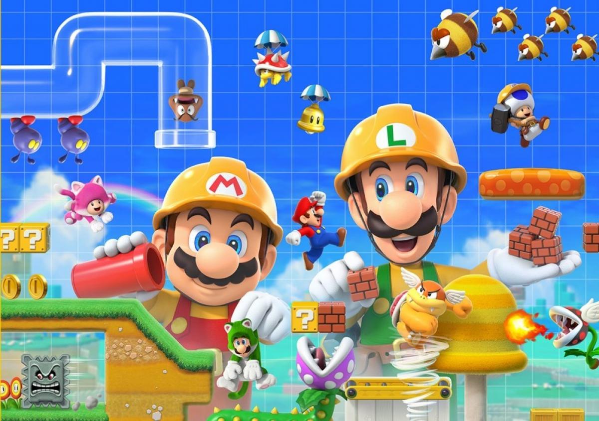 100 тысяч картриджей Super Mario Maker 2 было продано в Германии