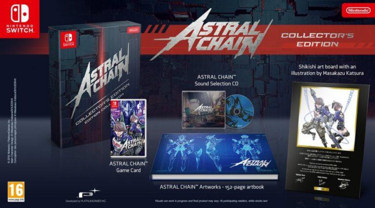 Скоро коллекционное издание Astral Chain будет сложно купить!