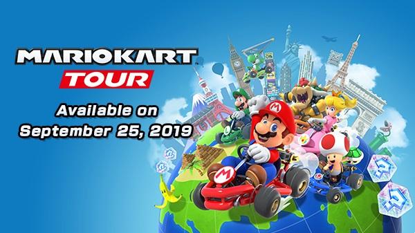 Mario Kart Tour выйдет 25 сентября!