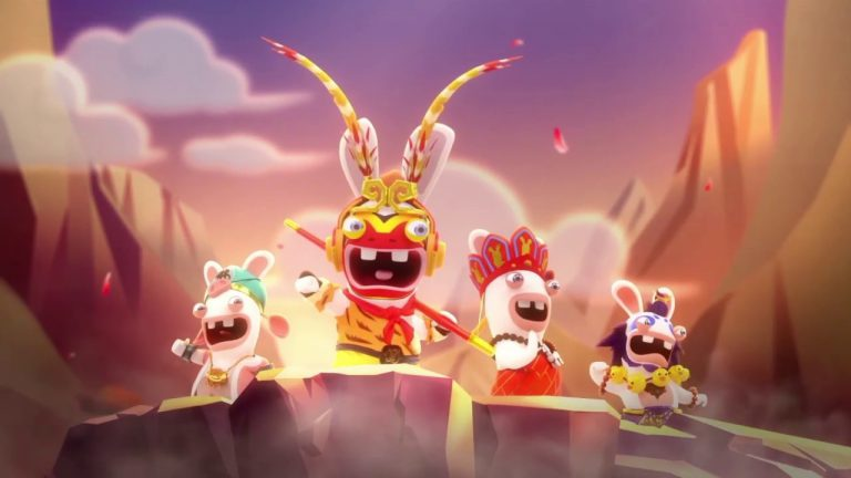 20 минут геймплея Rabbids: Adventure Party