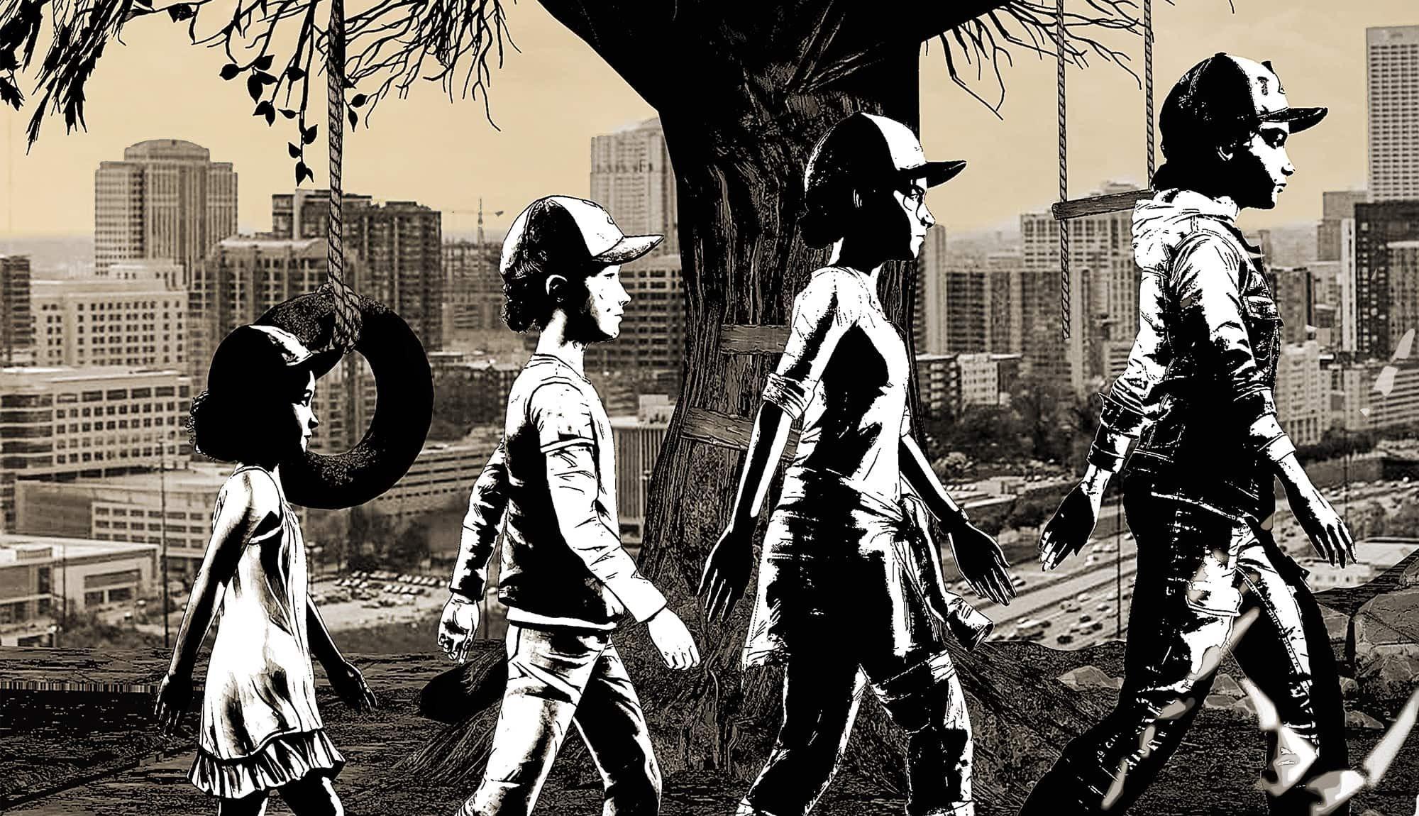 The Walking Dead: Season Two и The Walking Dead: A New Frontie выйдут на Switch