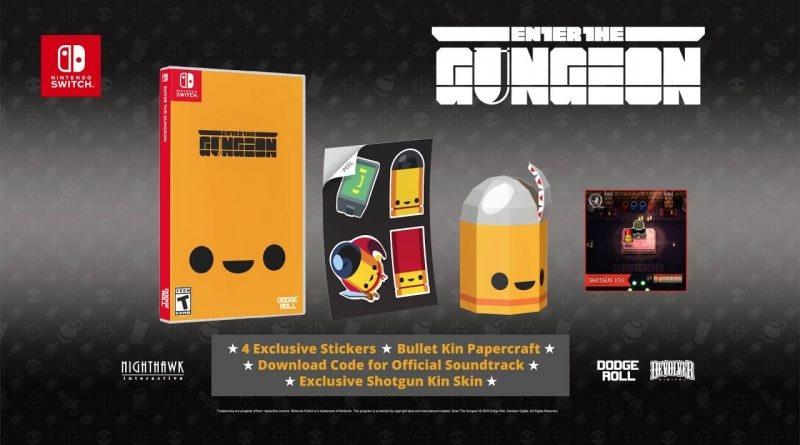Физическая версия Enter The Gungeon поступила в продажу!