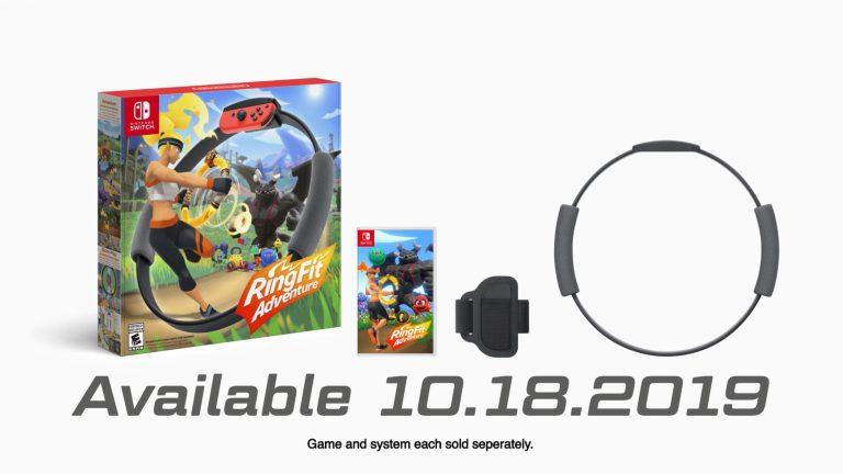 Nintendo анонсировала Ring Fit Adventure
