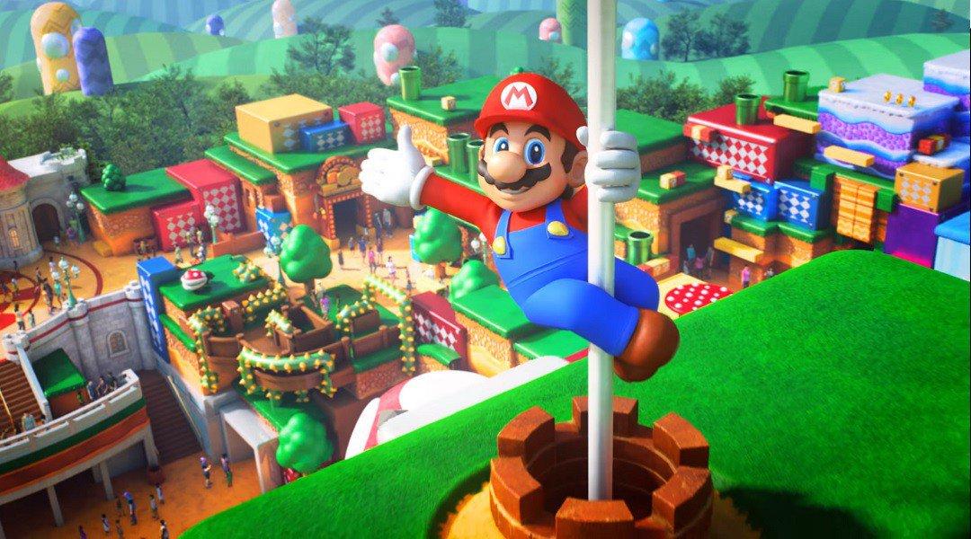 Первые фото парка Super Nintendo World