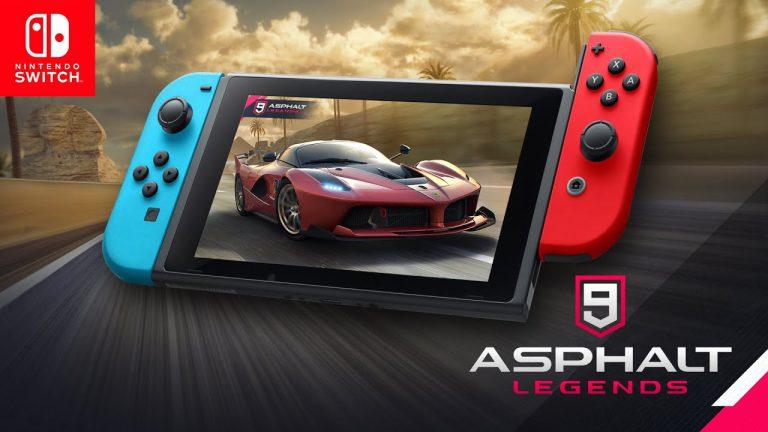 Asphalt 9: Legends выйдет на Switch 9 октября