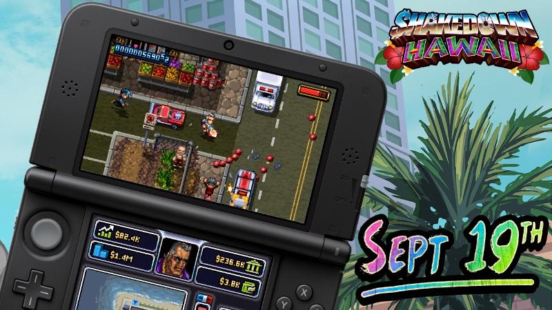 Shakedown: Hawaii выйдет на 3DS 19 сентября