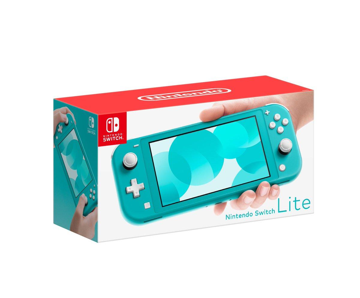 Бирюзовый – самый популярный цвет Switch Lite