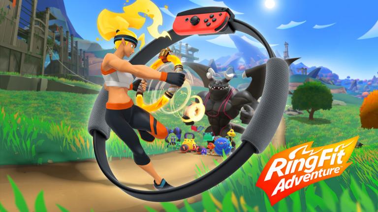 Содержание набора Ring Fit Adventure, и первые впечатления от игры