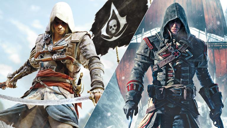 Физическая версия Assassin's Creed: The Rebel Collectionсодержит только 4 часть на картридже