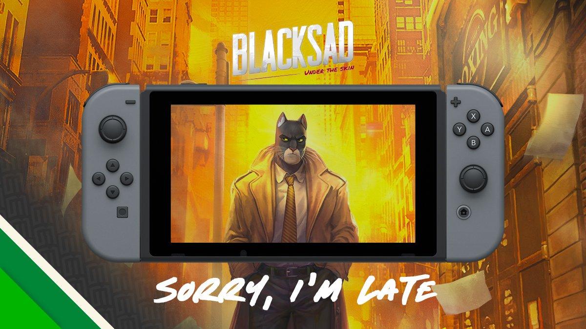 Blacksad: Under the Skin для Switch снова перенесли