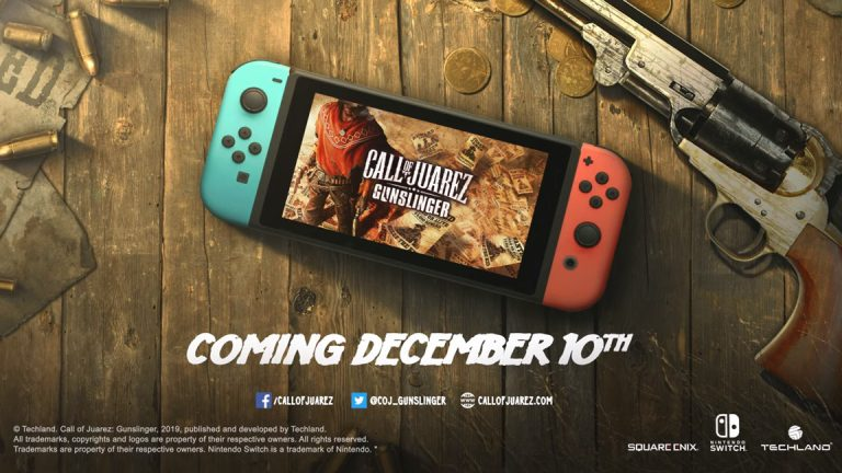 Call of Juarez: Gunslinger выйдет на Switch 10 декабря