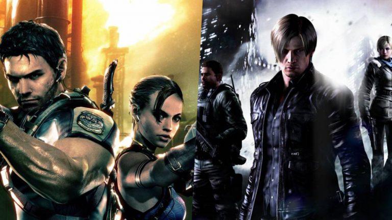 Демо-версии Resident Evil 5 и 6 появились в eShop