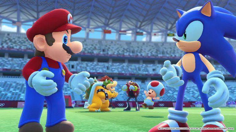Обзор Марио и Соник на Олимпийских играх 2020 в Токио.