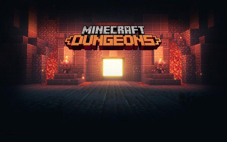 Minecraft Dungeons выйдет на Switch в апреле 2020 года