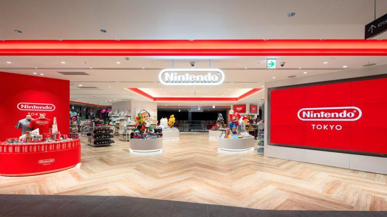 Первый взгляд на официальный магазин Nintendo в Токио