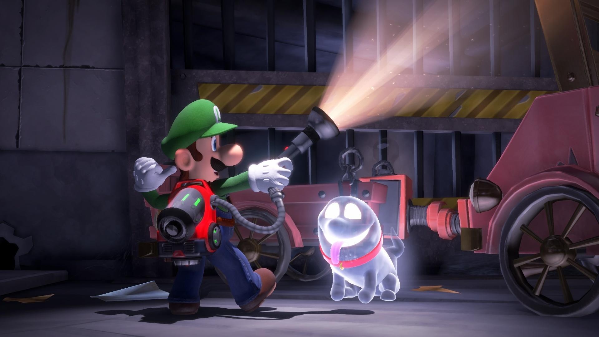 Для Luigi's Mansion 3 вышло обновление 1.2.0