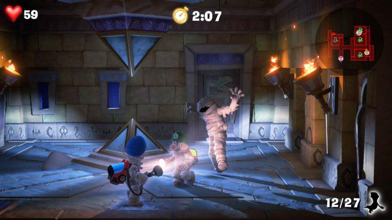 Nintendo анонсировала дополнения для многопользовательского режима Luigi's Mansion 3!
