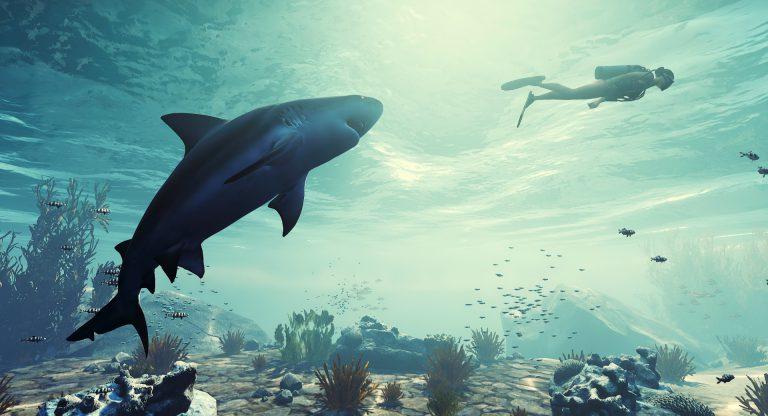 Станьте кровожадной акулой в новой экшн-РПГ Maneater для Switch