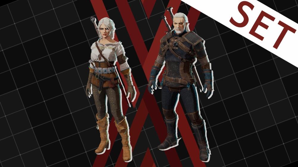 Геральт и Цири появятся в Daemon X Machina!