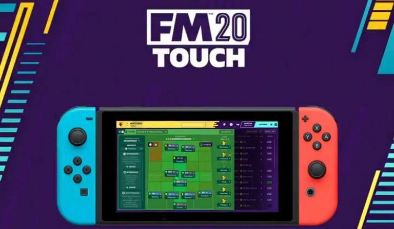 Football Manager 2020 Touchвыйдет на Switch 10 декабря