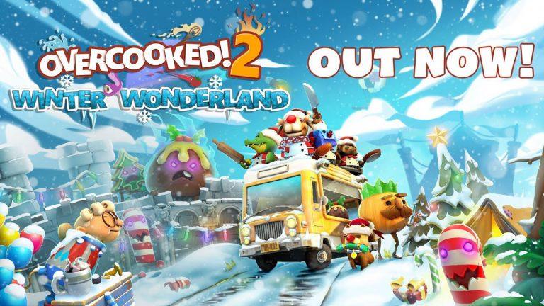Для Overcooked 2 на Switch вышло зимнее обновление
