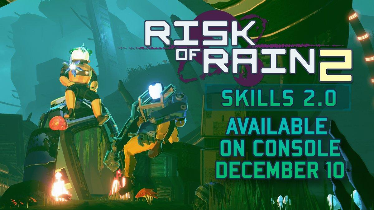 На следующей неделе для Switch-версии Risk of Rain 2 выйдет большое обновление