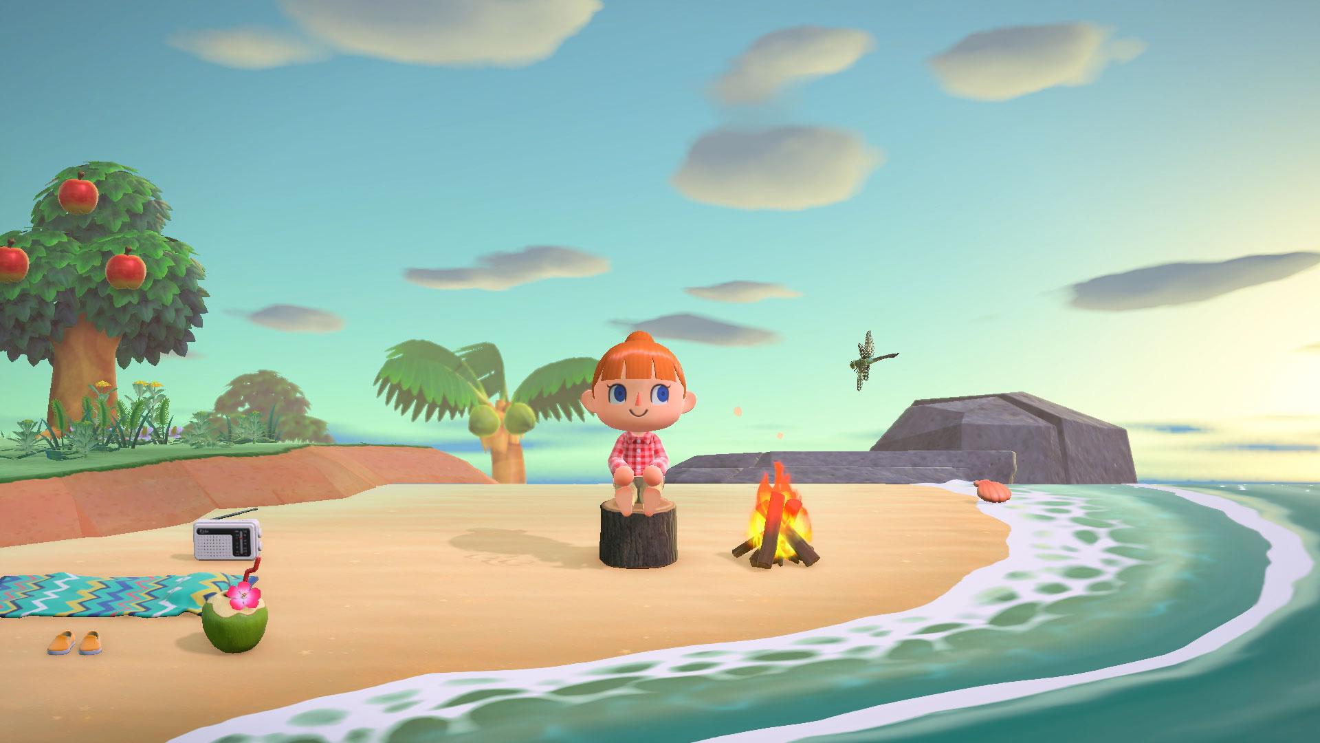 Новая японская реклама Animal Crossing: New Horizons