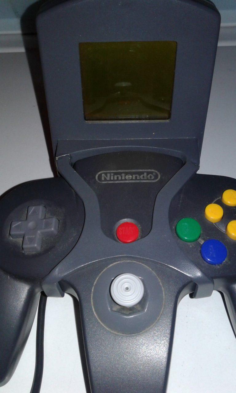 """Прародитель планшета Wii U: """"Секретный экран"""" для N64"""