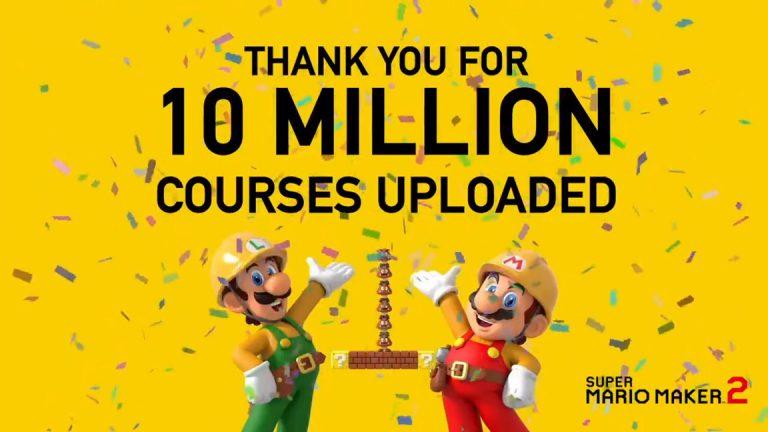 В Super Mario Maker 2 загрузили более 10 миллионов уровней!