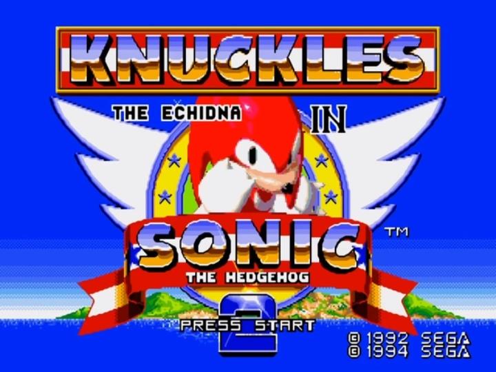 Наклз появится в SEGA Ages Sonic the Hedgehog 2