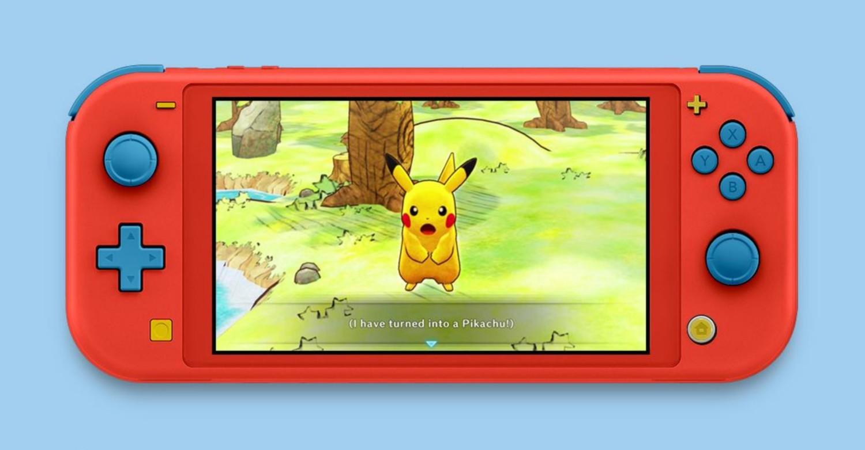 Fanart: Nintendo Switch Lite Pokemon Mystery Dungeon: Rescue Team DX Edition