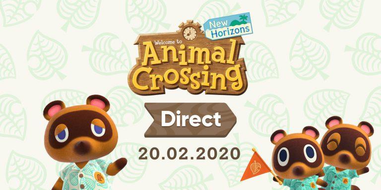 Nintendo анонсировала Direct по Animal Crossing: New Horizons!