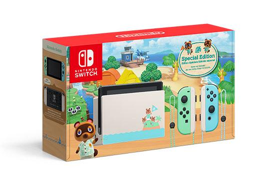 Японское подразделение Nintendo будет продавать пустые коробки из под набора Nintendo Switch Animal Crossing: New Horizons Edition