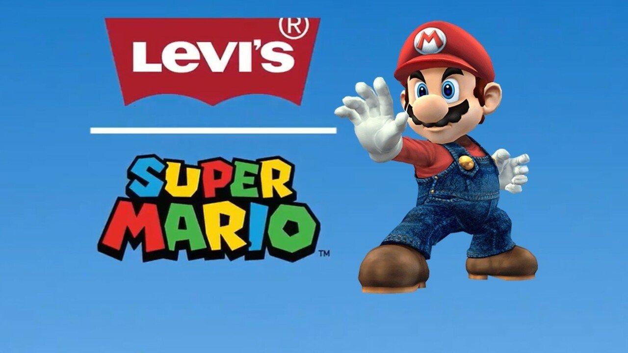 Levi's устроит коллаборацию с Mario