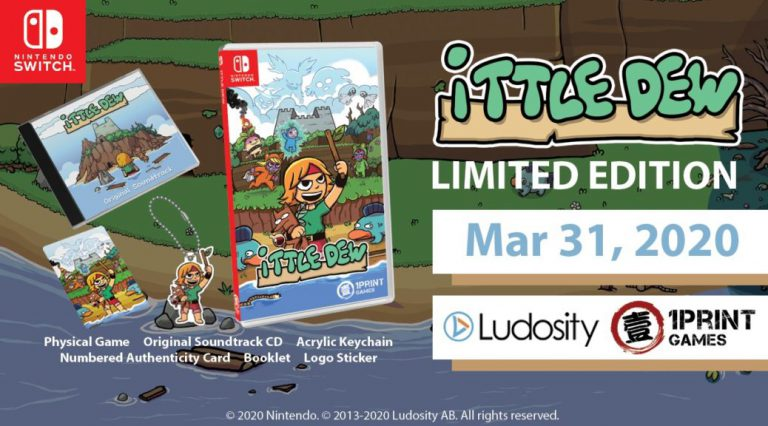 Ittle Dew Limited Edition выйдет 31 Марта на Switch