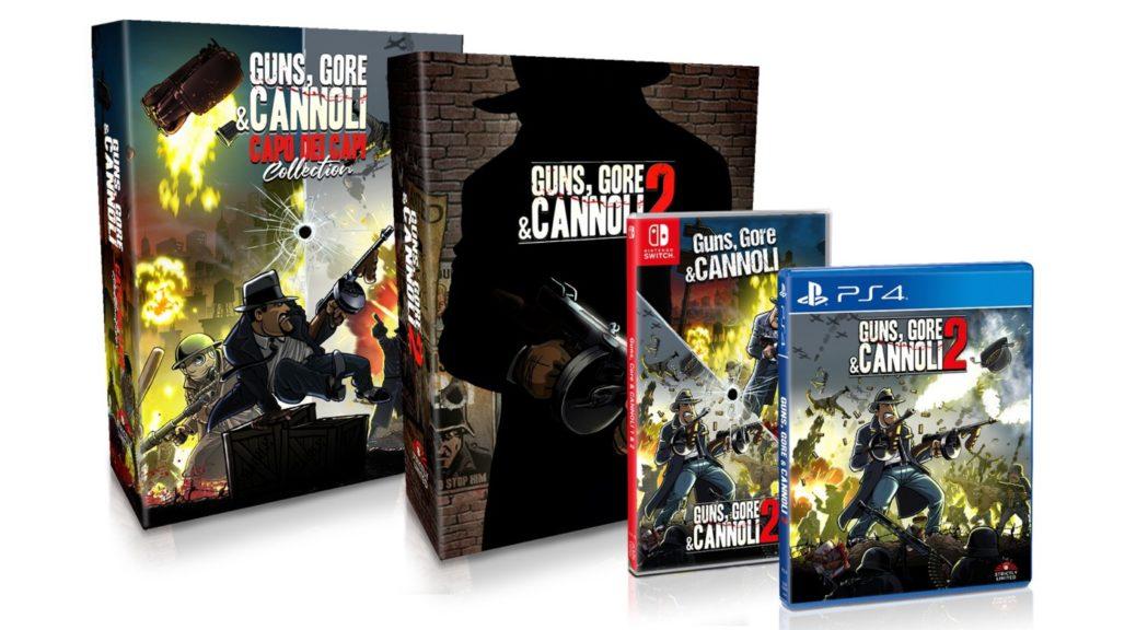 Guns, Gore And Cannoli 1 & 2 – Физическое издание анонсировано для Switch!